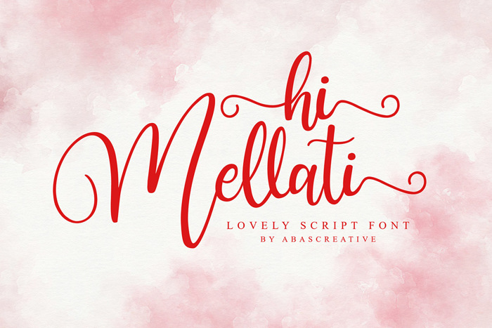 hi Mellati Font poster