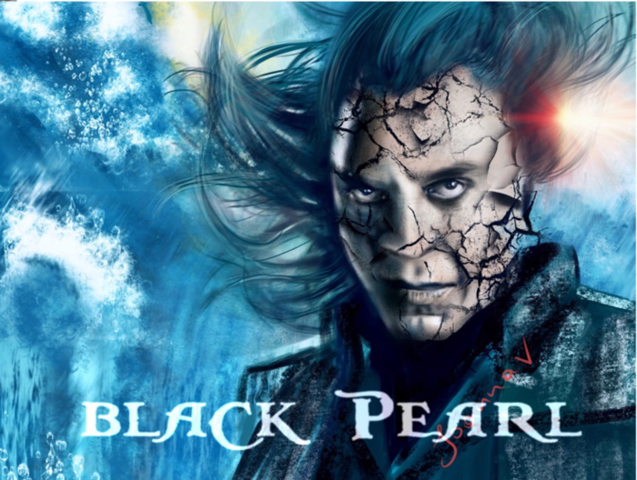 BlackPearl Font poster