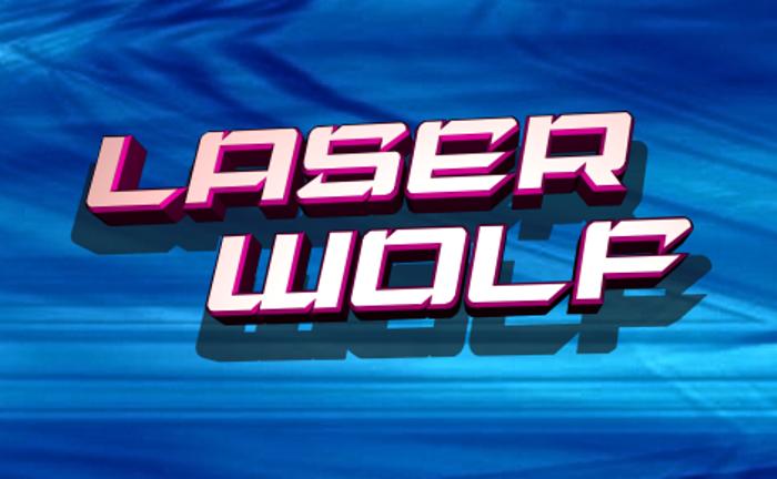 Laser Wolf Font poster