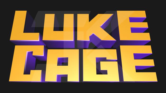 Marvel's Luke Cage Font poster