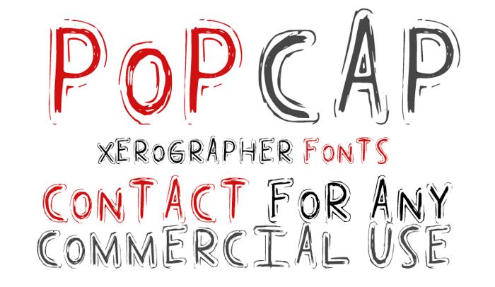 Pop Cap Font