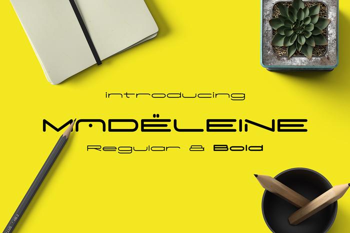 Madeleine Font poster