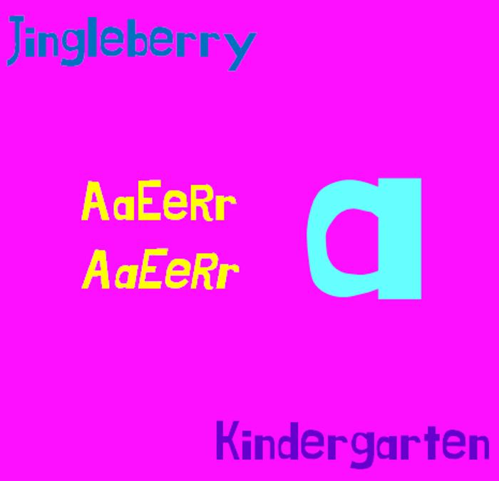 Jingleberry Font poster