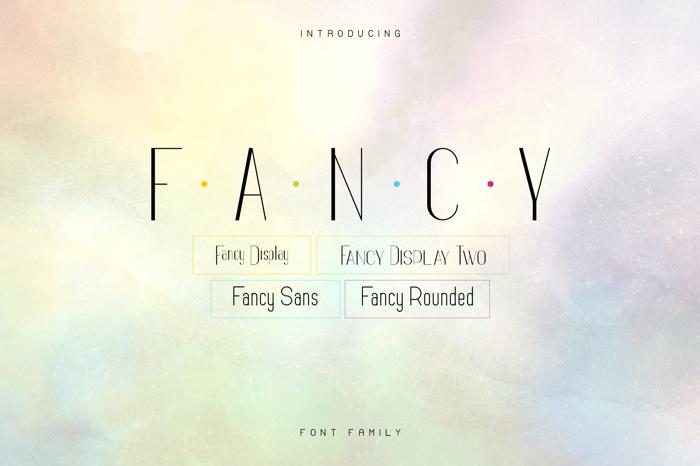 Fancy Font poster
