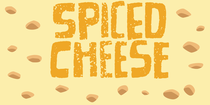 Spiced Cheese DEMO Font poster