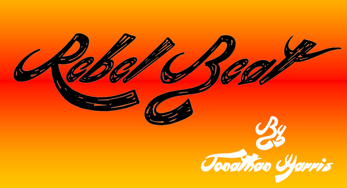 Rebel Beat Font poster