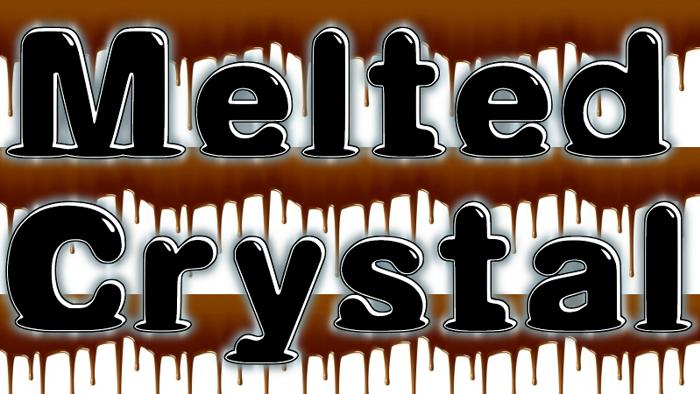 Melted Font