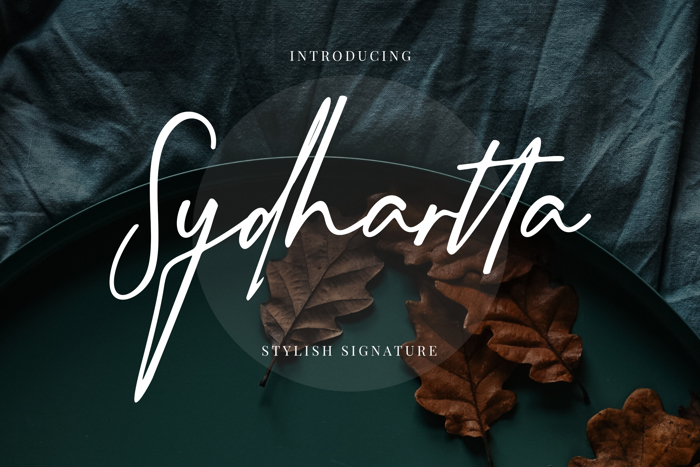 Sydhartta Font poster