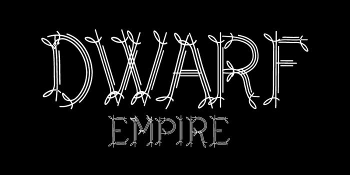 CF Dwarf Font poster