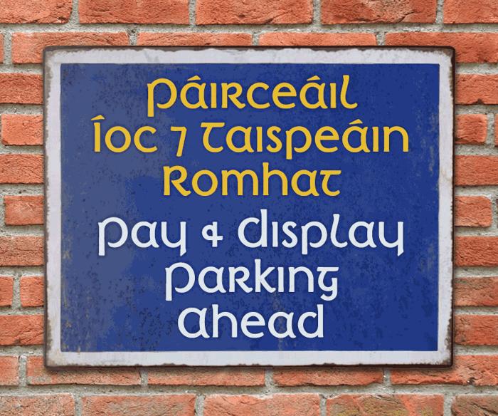 Irish Penny Font poster