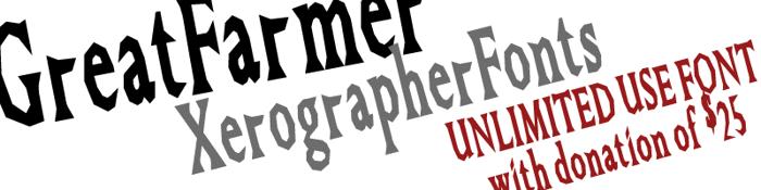 GreatFarmer Font poster
