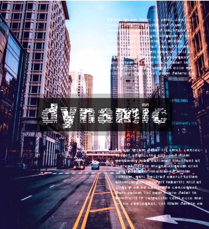 Vtks Dynamic Font poster