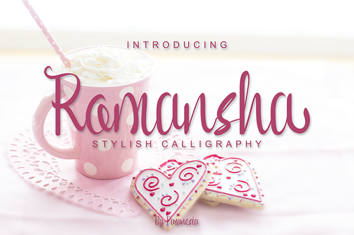 Romansha Font poster
