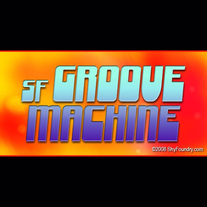 SF Groove Machine Font poster