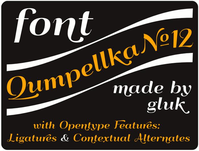 QumpellkaNo12 Font poster