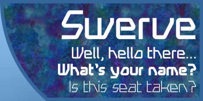 Swerve Font poster