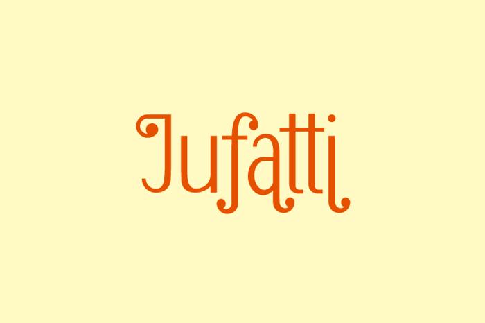 Jufatti Font poster