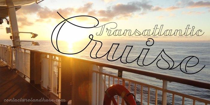 Transatlantic Cruise Demo Font