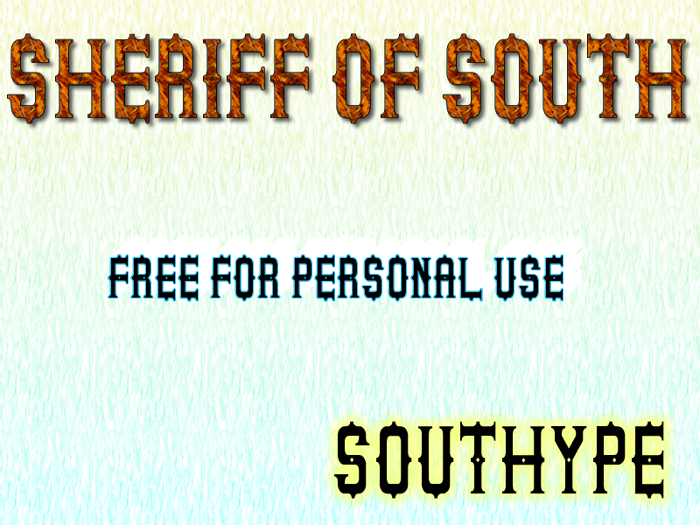 Sheriff of South St poster