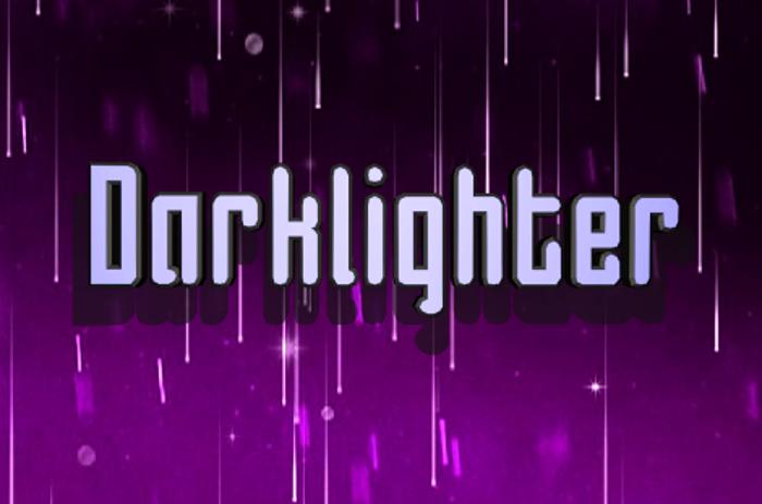 Darklighter Font poster