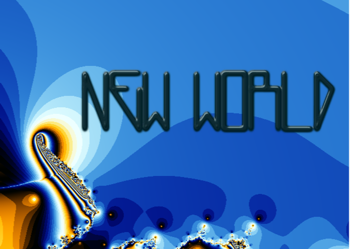 NewWorld Font poster