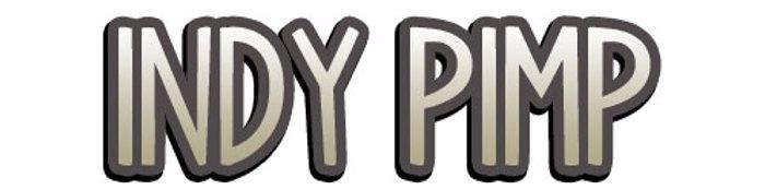 Indy Pimp Font poster