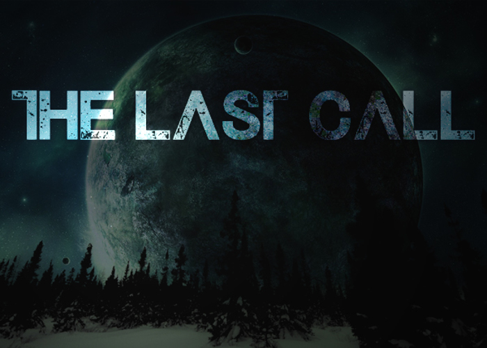 The Last Call Font poster