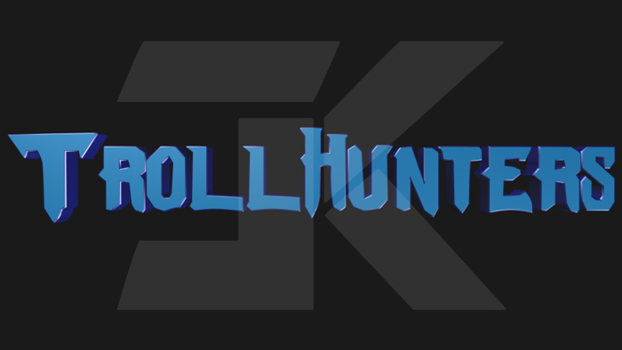 Trollhunters Font poster
