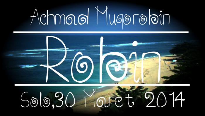 Robin Font poster