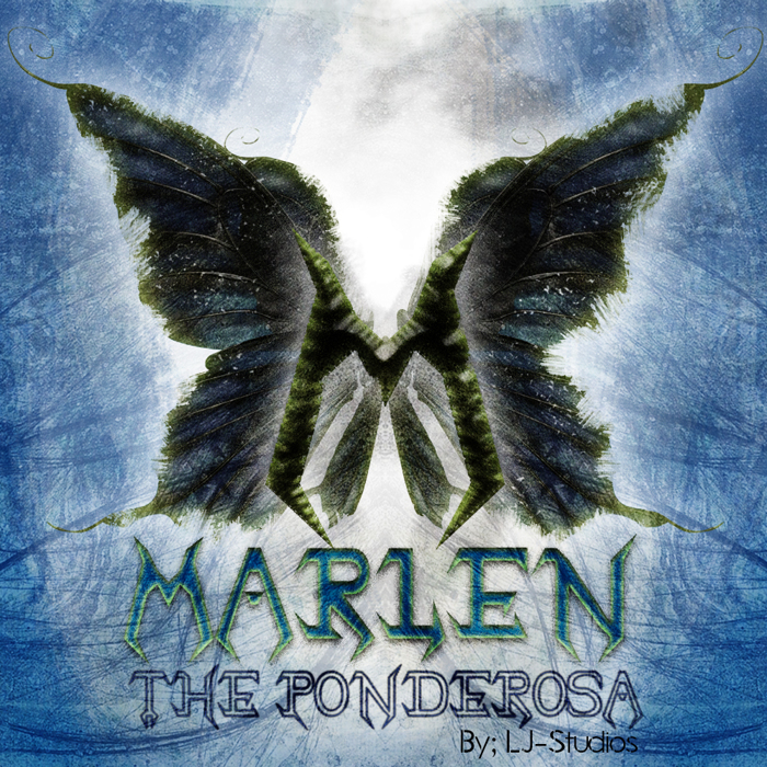 Marlen The Ponderosa Font poster