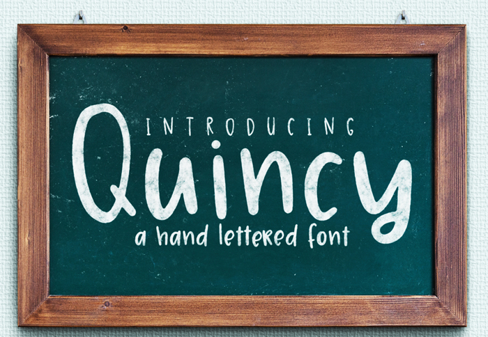Quincy Font poster