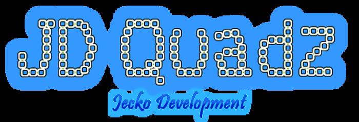 JD Quadz Font poster