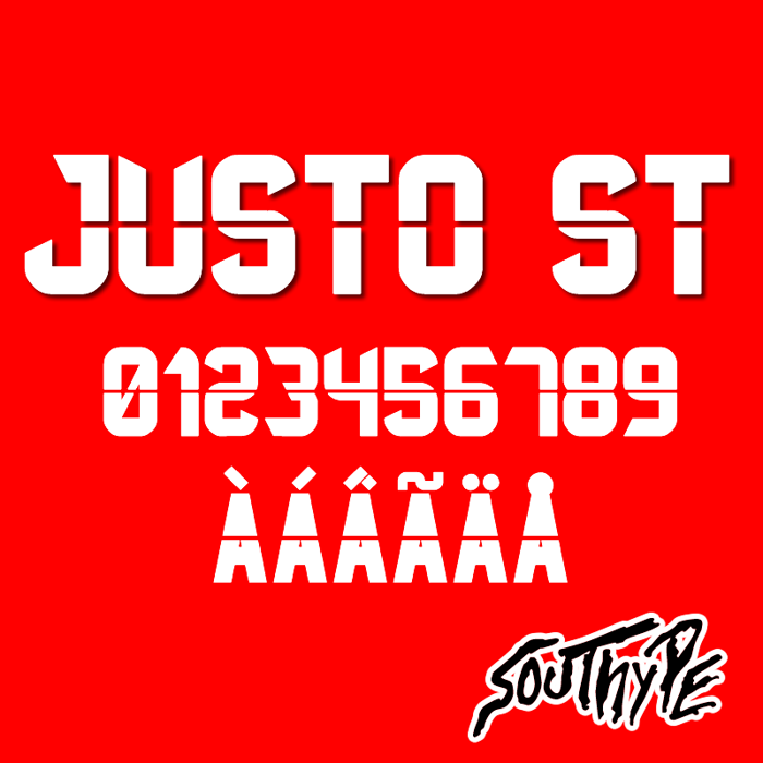 Justo St Font poster