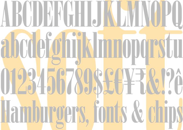 Sardonyx Font poster