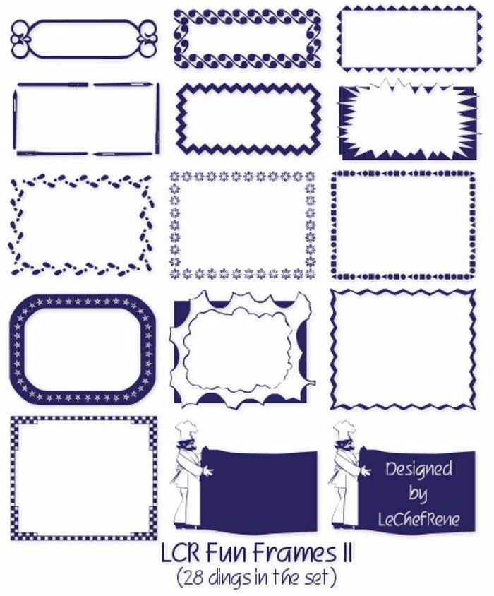 LCR Fun Frames II poster