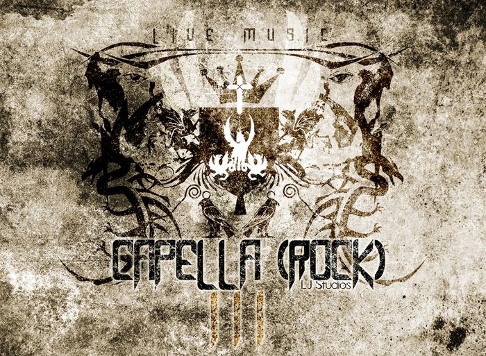 Capella (Rock) III Font