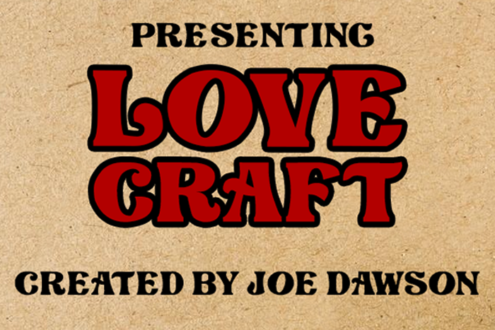 Love Craft Font poster