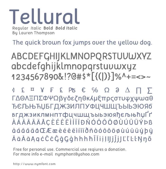 Tellural poster
