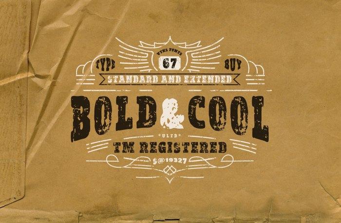 vtks Bold & Cool Font poster
