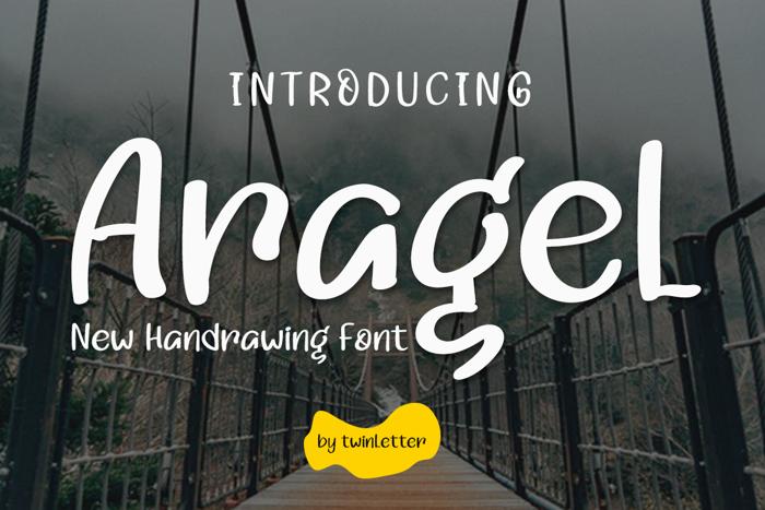 Aragel Font poster