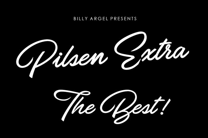 Pilsen Extra Font poster