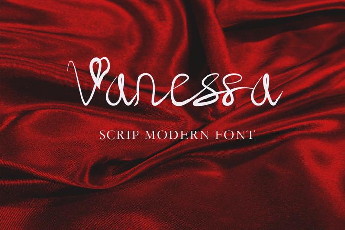 Vanessa Font poster