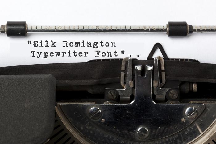 Silk RemingtonSBold Font poster