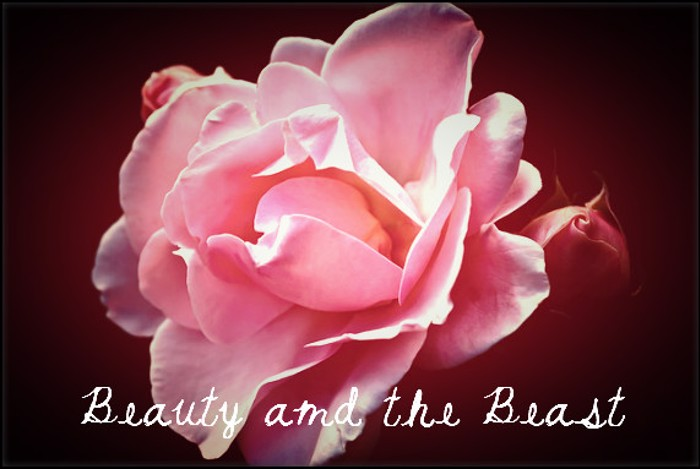 Beauty and the Beast Font poster
