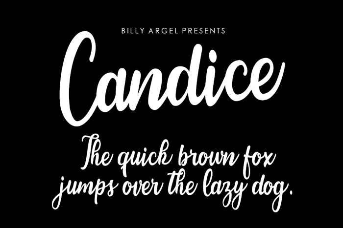 Candice Font poster