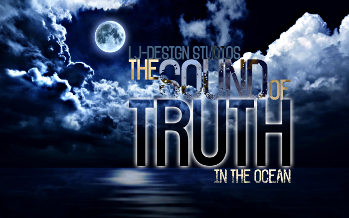 The Sound of Truth Font poster