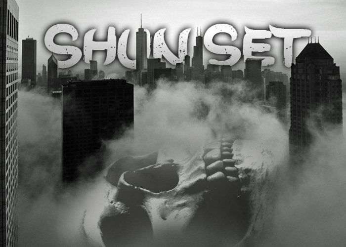 Shun Set Font poster
