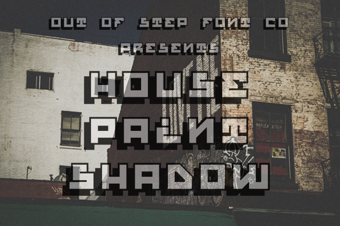 House Paint Shadow poster