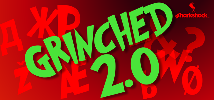 Grinched 2.0 Font poster