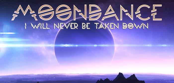 Moondance Font poster